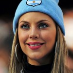 Argentinian blonde worldcup girl