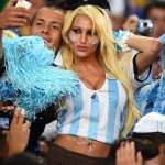 Argentinian hot worldcup girl