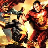 Black-Adam-vs-Superman-and-Captain-Marvel