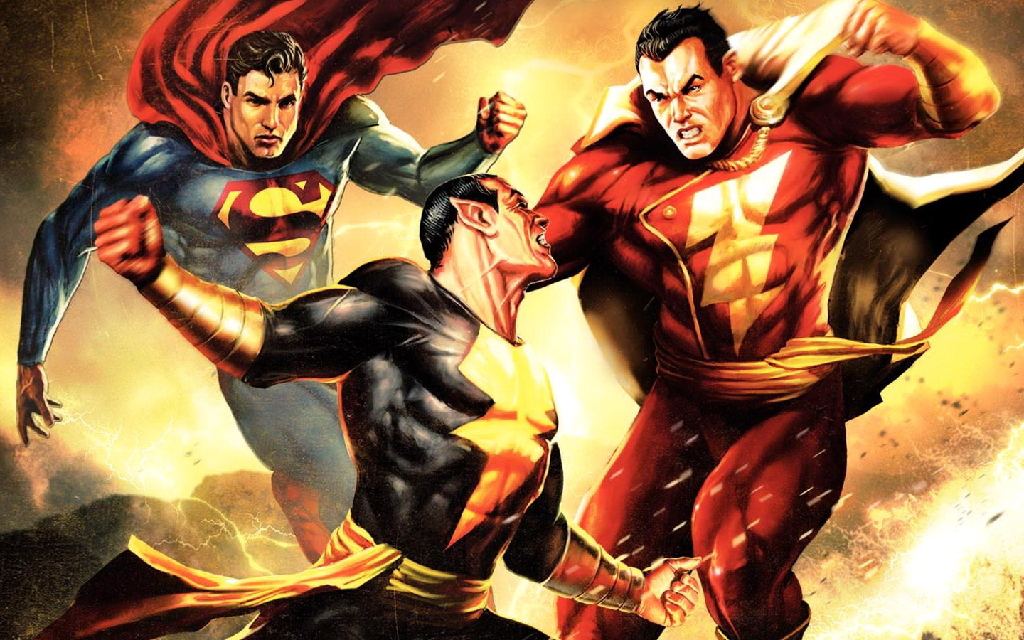 TÉLÉCHARGER SUPERMAN SHAZAM THE RETURN OF BLACK ADAM VF