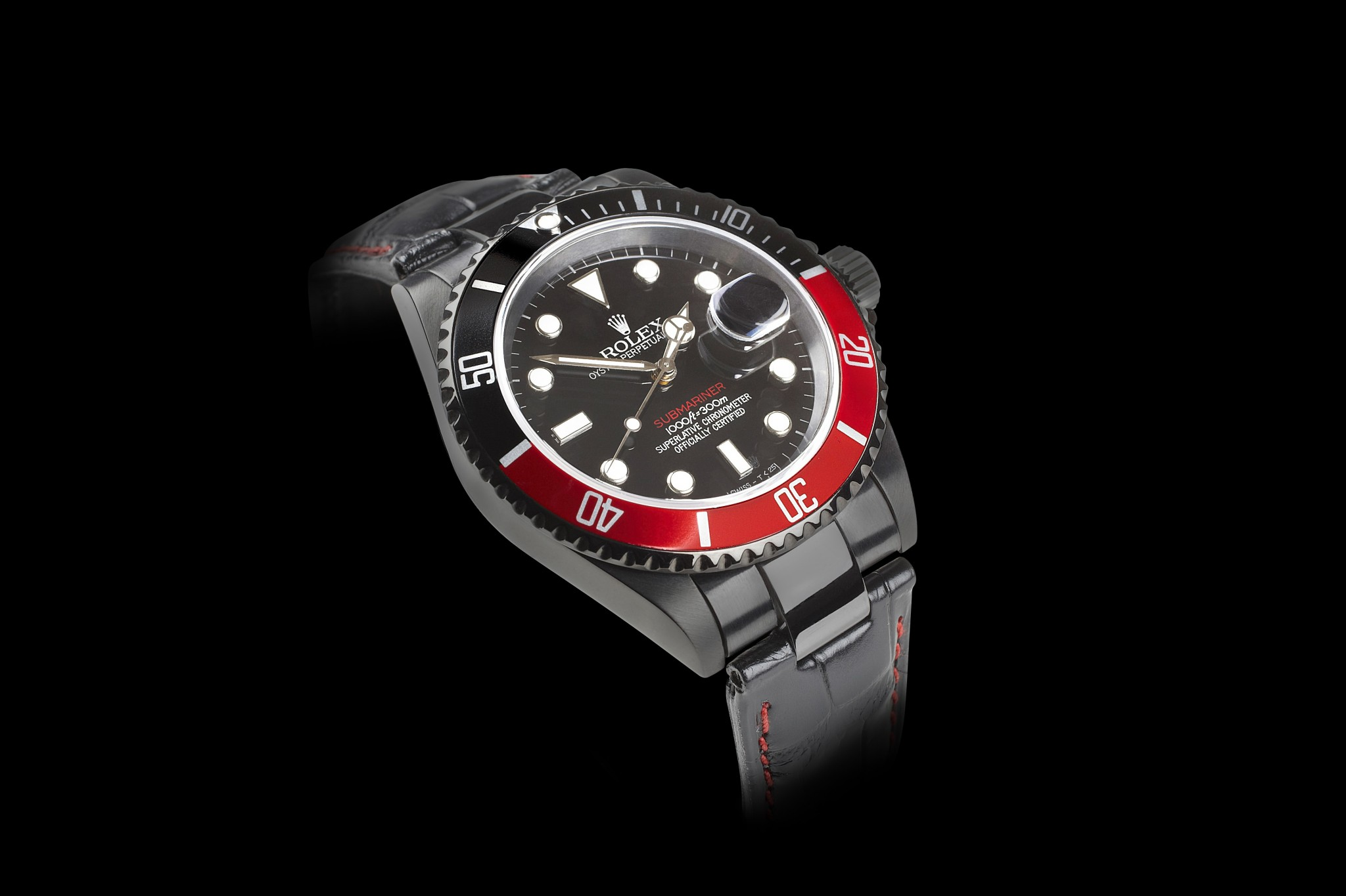 Black And Red Rolex Watch Mac Heat