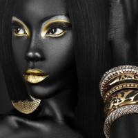 Black-Girl-In-Gold