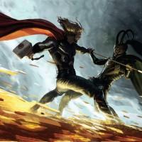 Loki-vs-Thor-Wallpaper