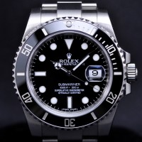 Silver-Rolex-Submariner-Watch