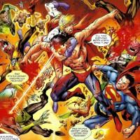 Superboy-Prime-vs-Justice-League