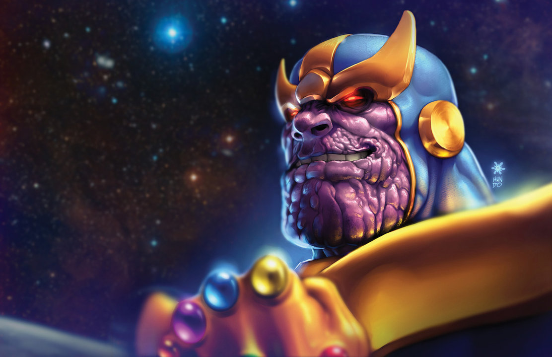 Thanos Cool Wallpaper Mac Heat