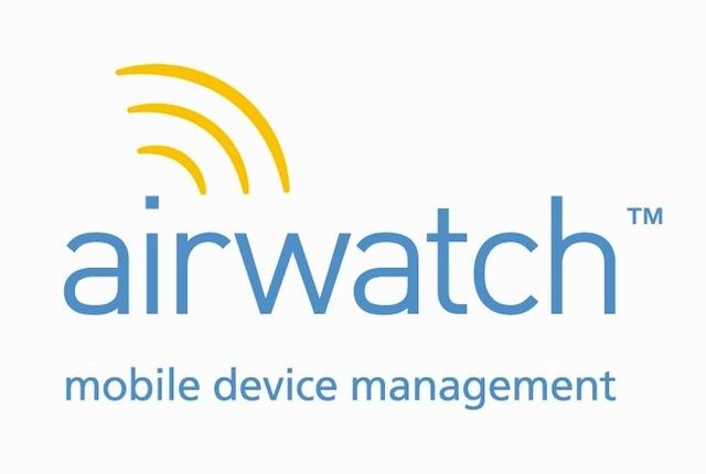 AirWatch on Mac OS X