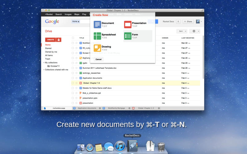 GoogleDocsOnOSX Mac Heat - Google documents download