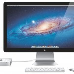 Mac Mini With Monitor and Mouse