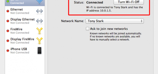 How to set ip address on macbook air
