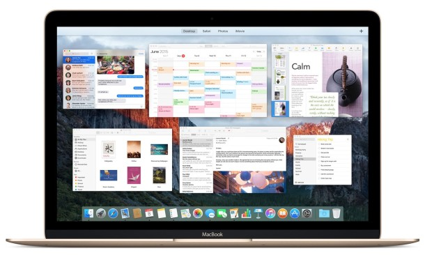 OS X El Capitan Screenshot