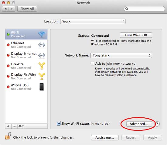 Find Your MAC Address