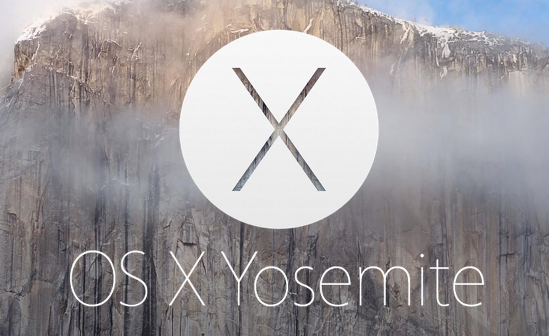 Os x yosemite official logo