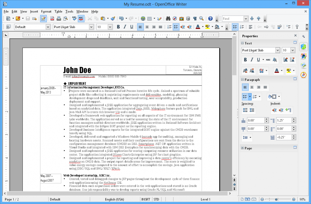 OpenOffice App for Mac