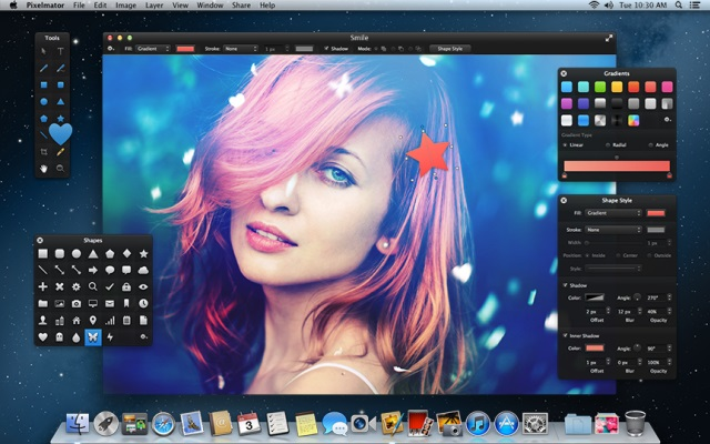 Screenshot PixelMator for Mac OS X