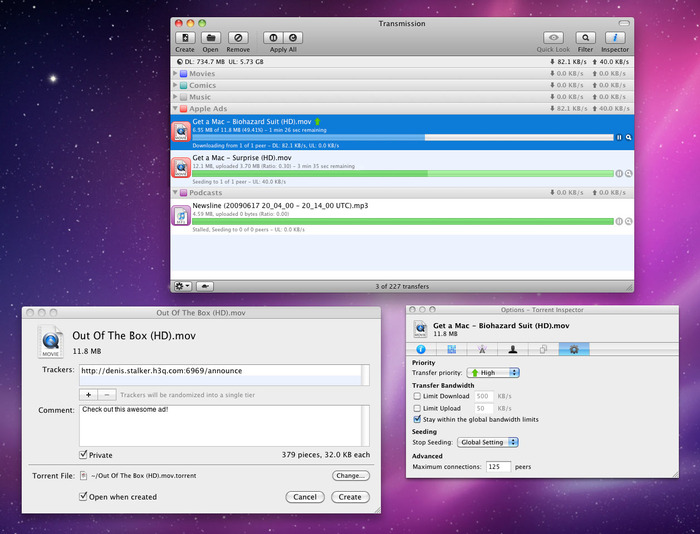 Transmission Bittorrent For Mac OS X