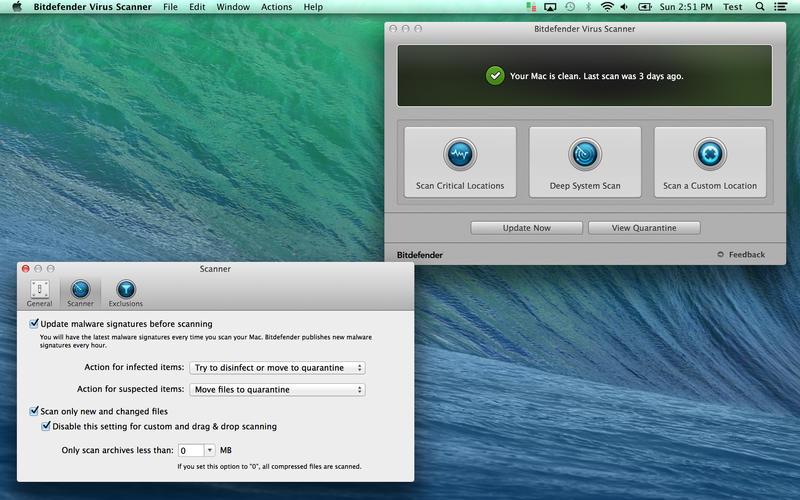 Install Bitdefender Antivirus For OS X