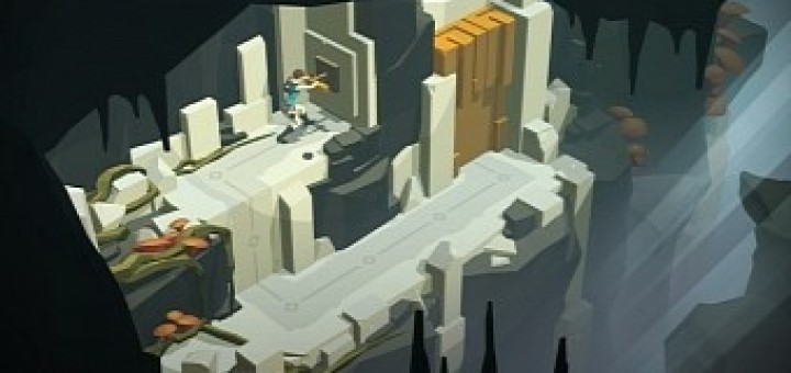 Lara croft go puzzle adventure game launches for ios android and windows phone