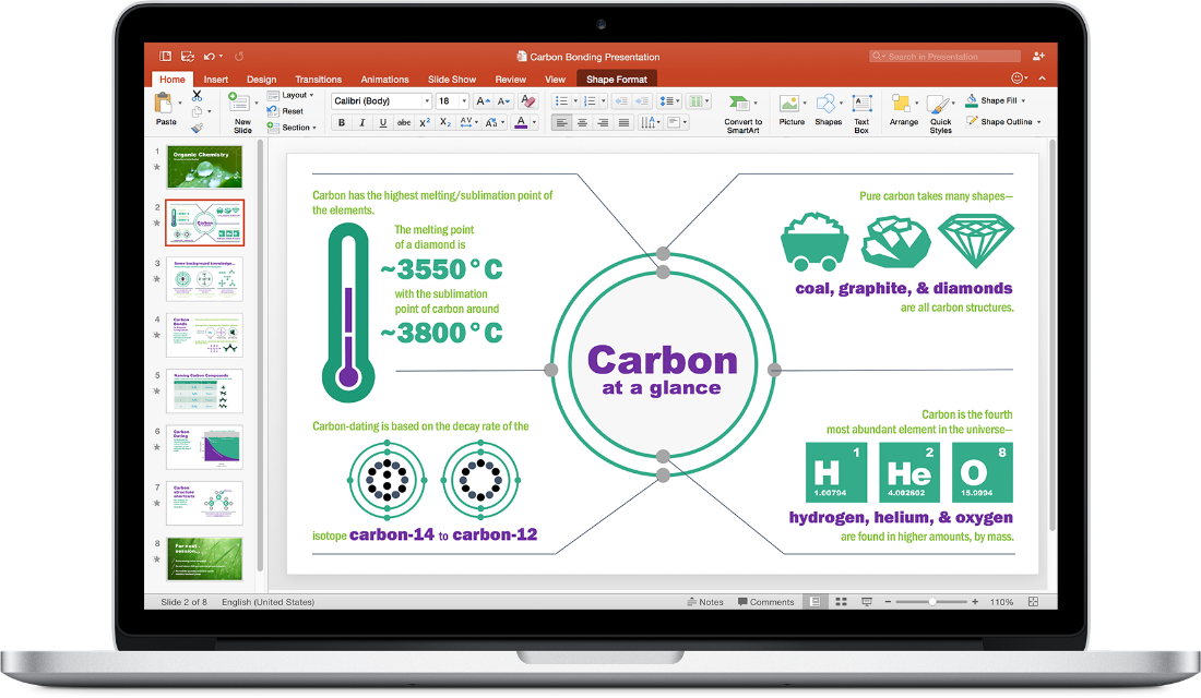 Microsoft Office 2016 Powerpoint