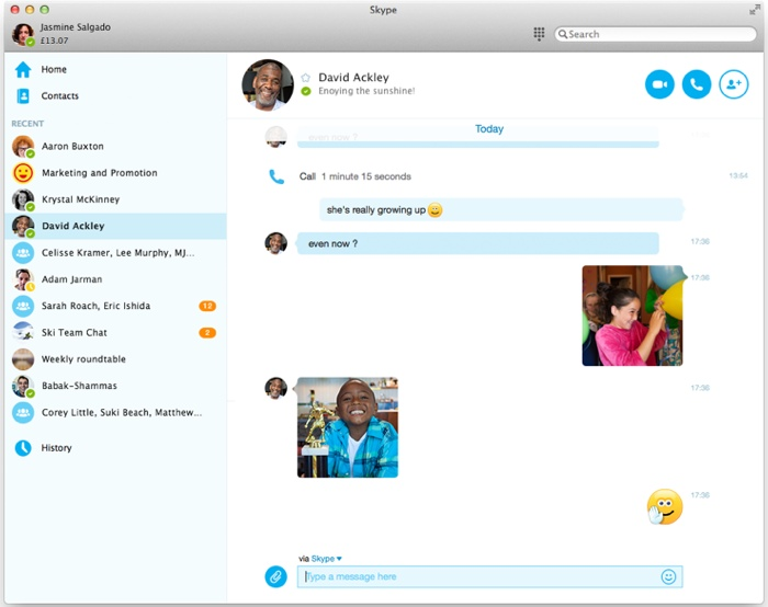 Skype for mac screenshot mac heat skype for mac screenshot ccuart Choice Image