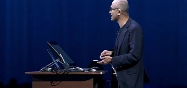 Microsoft s ceo unveils the new iphone pro