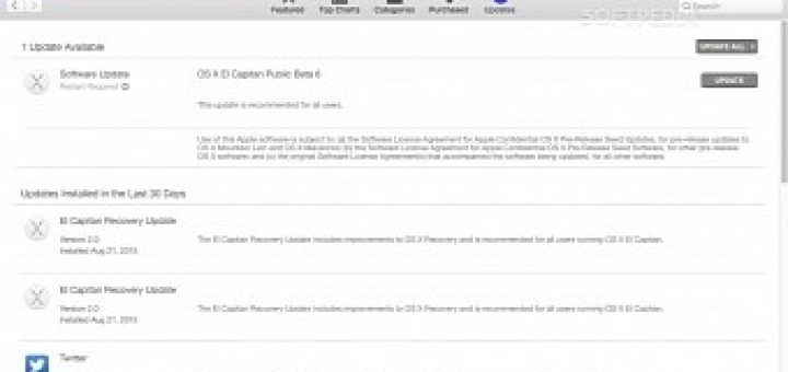 Sixth public beta of mac os x 10 11 el capitan now available to users worldwide