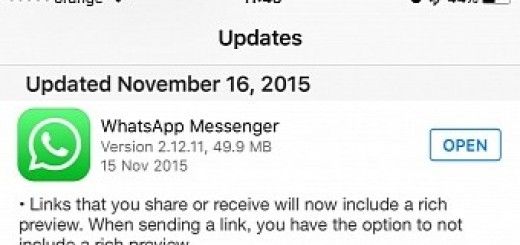 Whatsapp waze for ios updated with 3d touch support