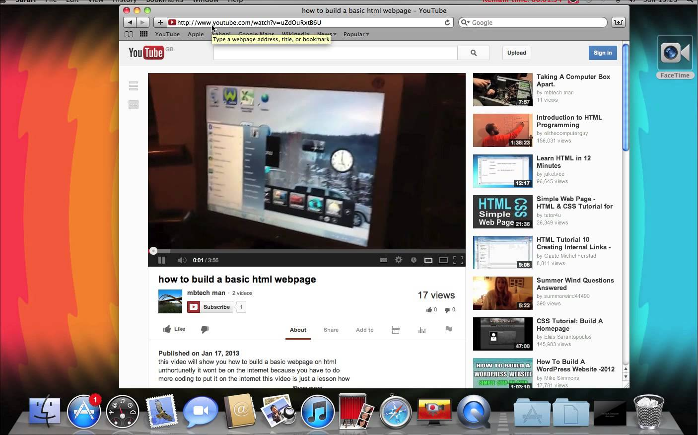 Safe way to download youtube video to macbook air