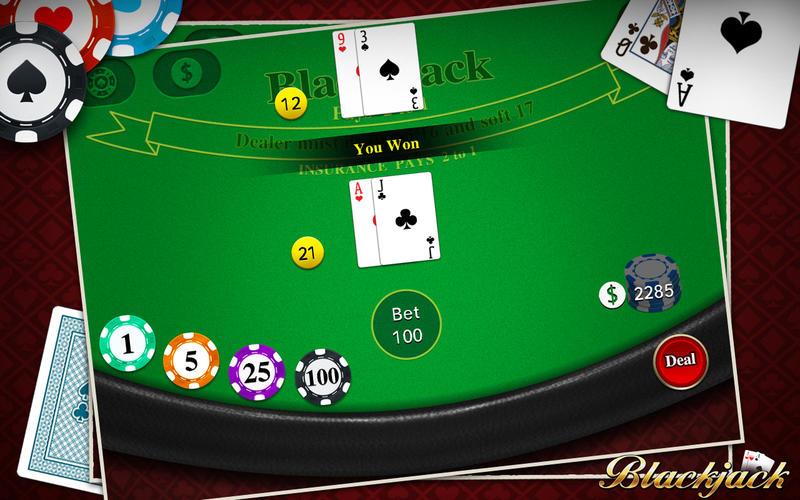 free online blackjack games mac