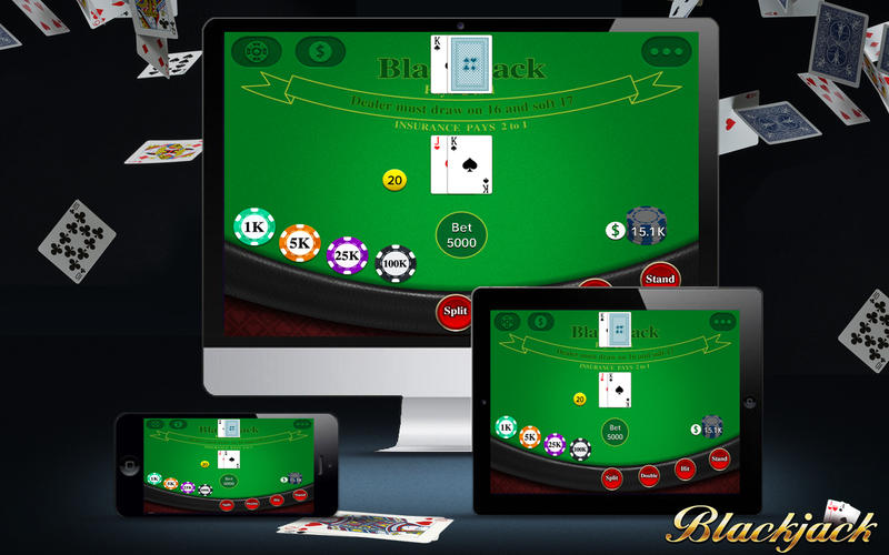 Play Blackjack Plus on Macbook