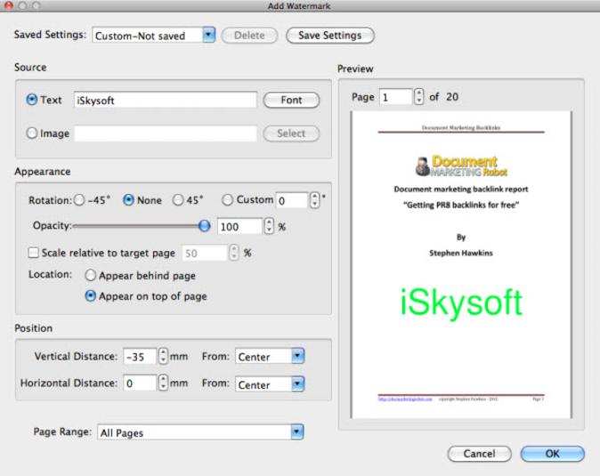 iskysoft pdf editor pro for mac free download
