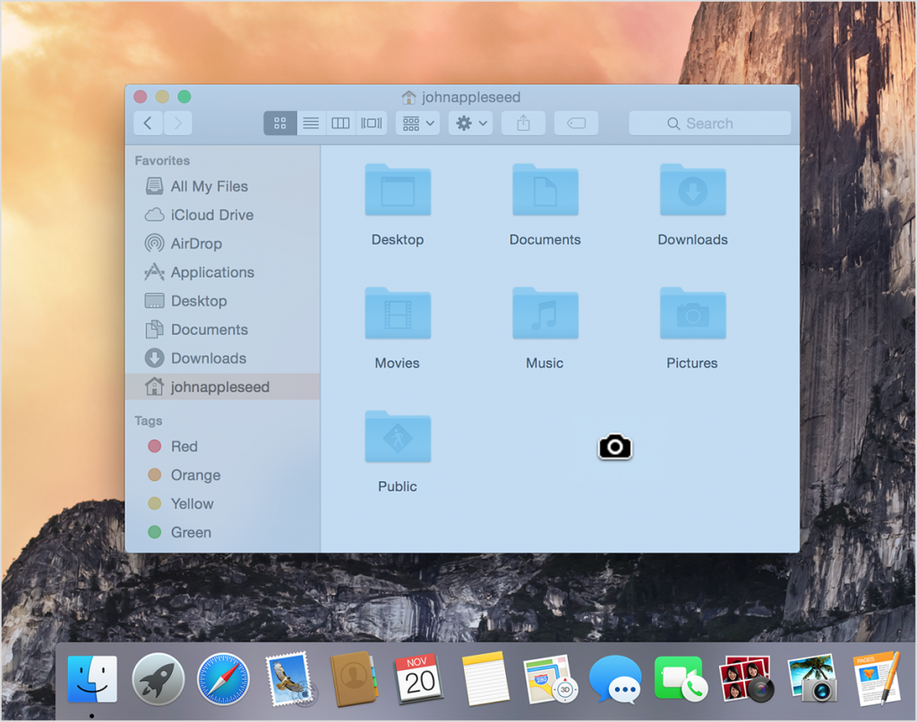 Screenshot your Mac computer screen