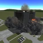 Kerbal space program explosion