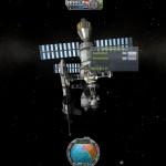Kerbal space program in space