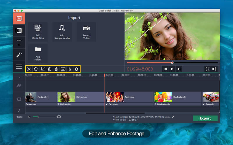Install Movavi Video Editor For Mac