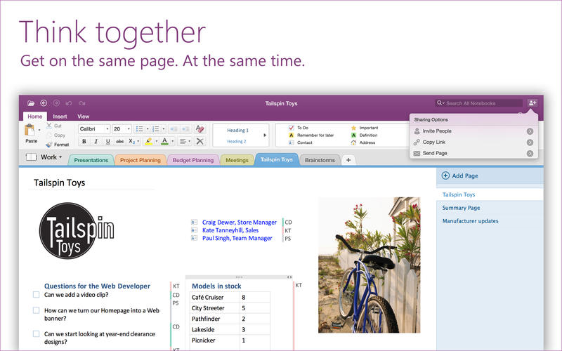 onenote mac not signing in