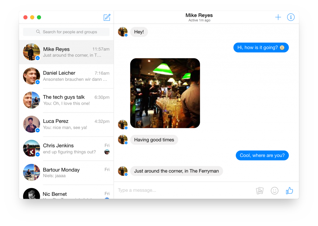 Download Facebook Messenger For Mac