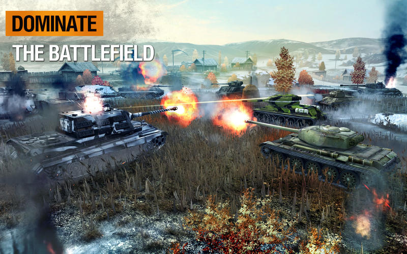 World of tanks blitz fights graphics