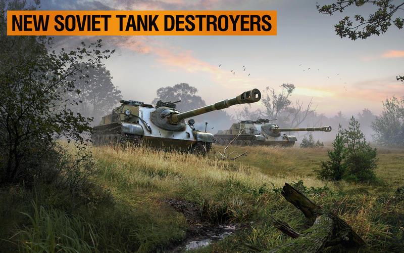 World of tanks blitz soviet union tanks
