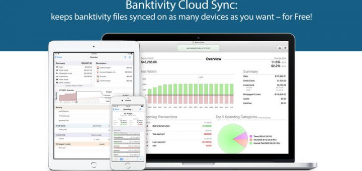 Banktivity 5 for mac