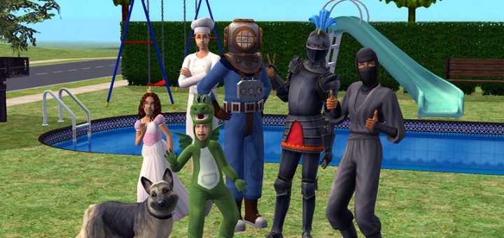 Sims 2 super collection characters