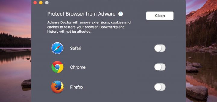 Adware doctor for mac