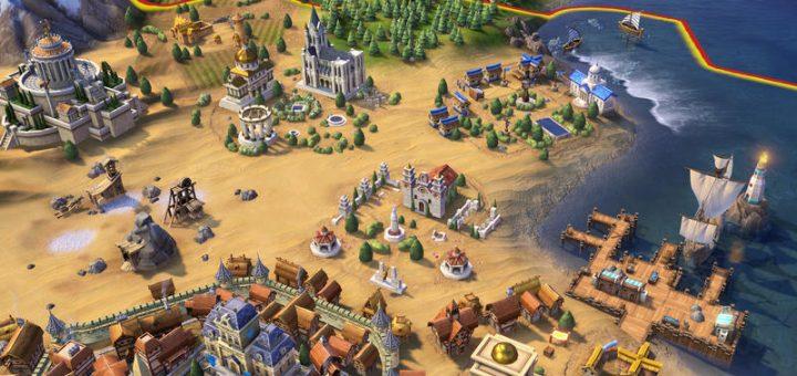 Civilization vi game graphics