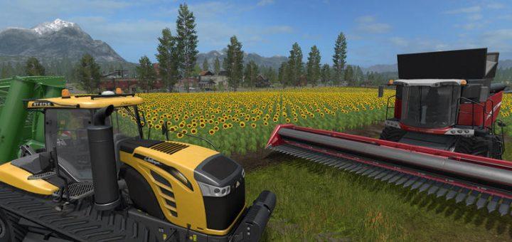 Farming simulator graphics
