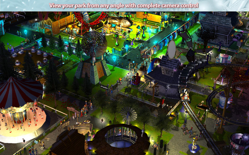 Rollercoaster tycoon 3 parks