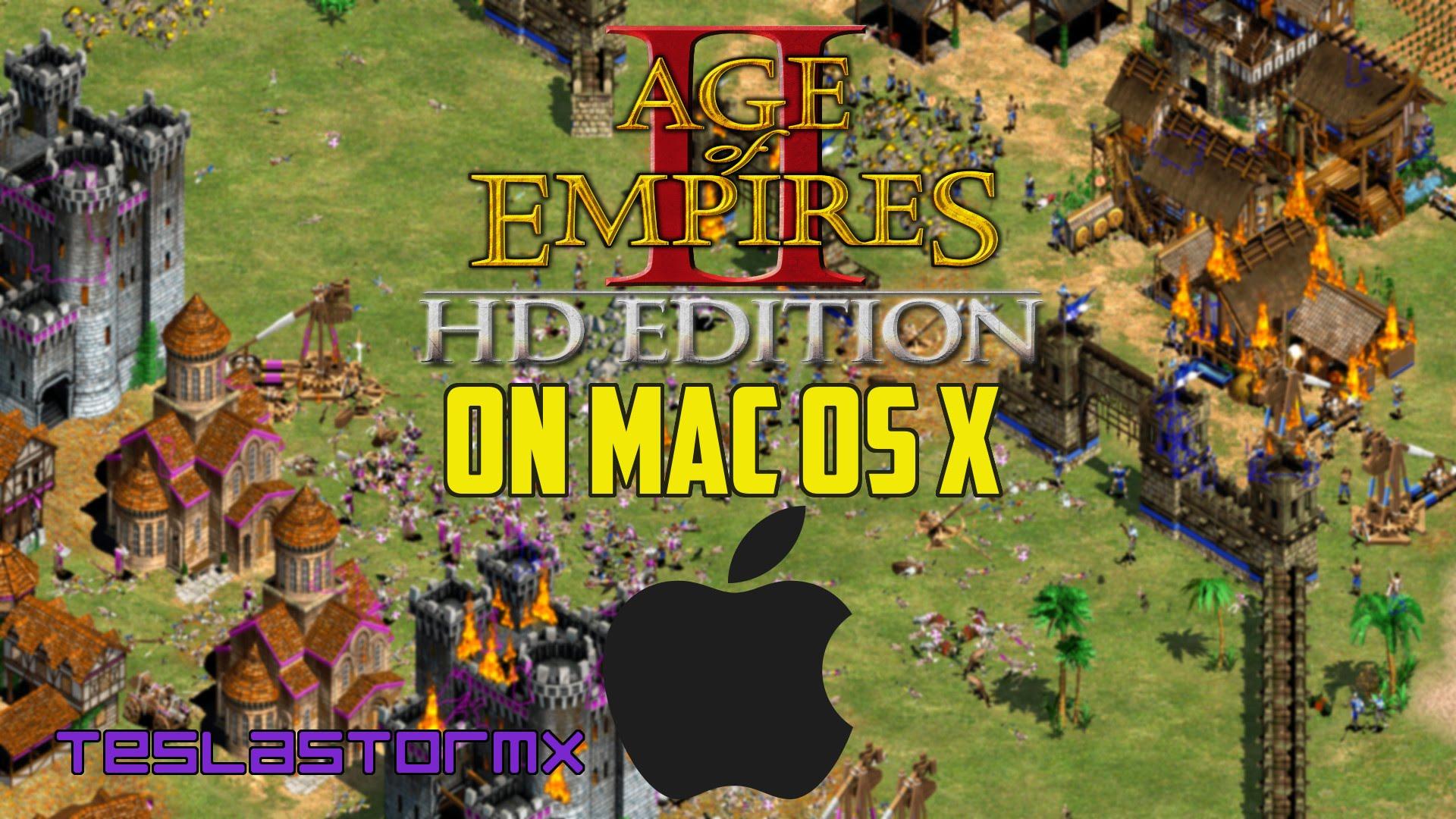 age of empires mac buy