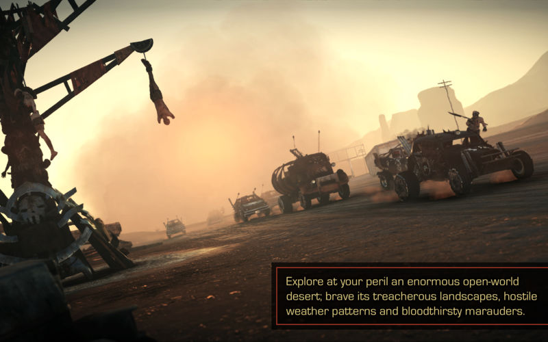 Mad max open world game macbook