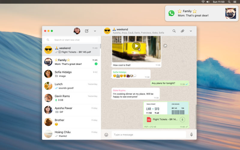 WhatsApp Messenger, Download WhatsApp Messenger For Mac