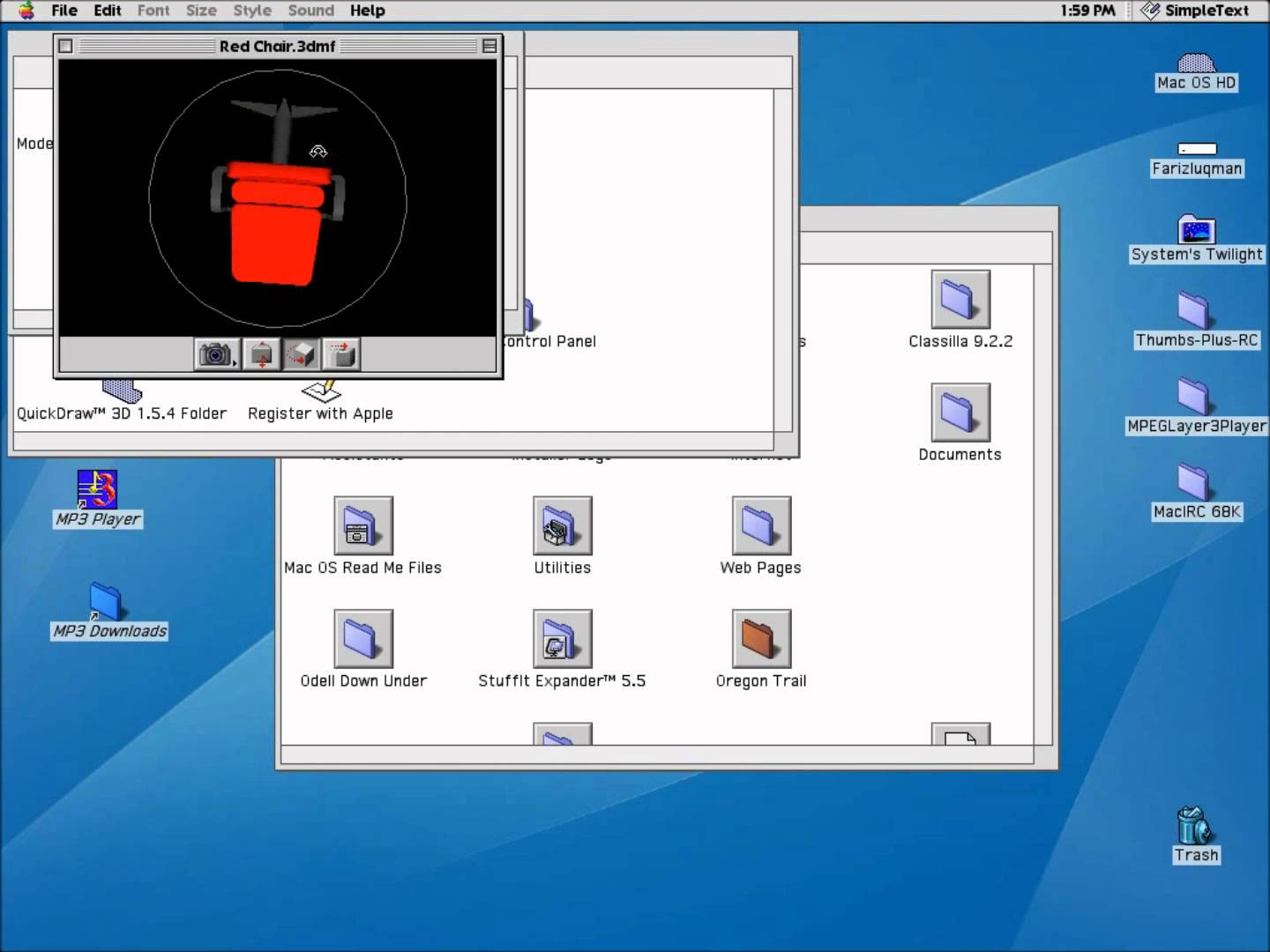 Ancient Mac OS 8 6 - Mac Heat