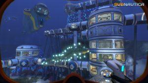 Build underwater base house